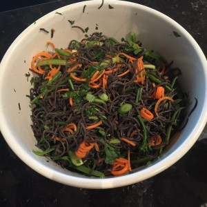 Miso and Tahini Blackbean Noodle Salad_4