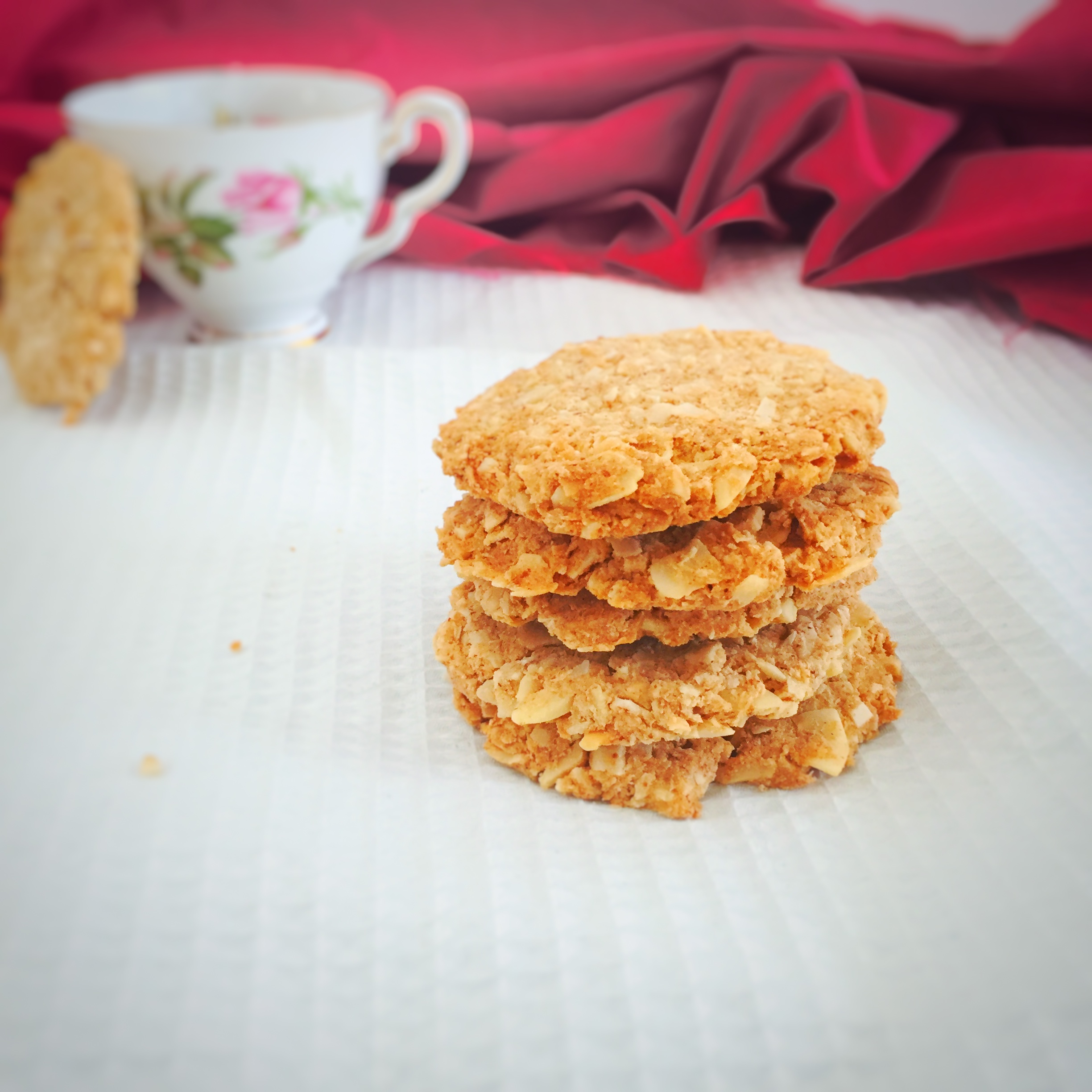 Crunchy Almond And Vanilla Biscuits The Healthy Journey Delicious Healthy Recipes Thermomix Recipes