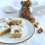 caramel and pecan slice Thermomix